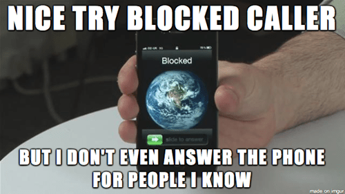 phones telemarketers - 8189950976