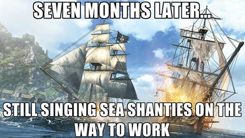 ac4,assassins creed iv,sea shanties,black flag,video games