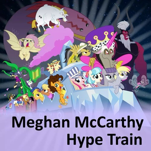 hype train,mlp season 4,meghan mccarthy