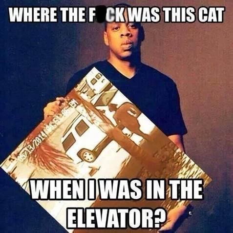 Solange,tara the cat,Jay Z