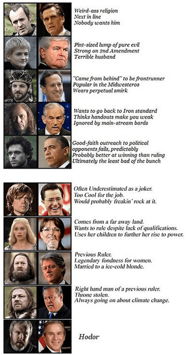 Game of Thrones politics - 8190110720