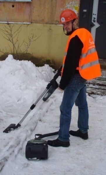 monday thru friday snow work vacuum