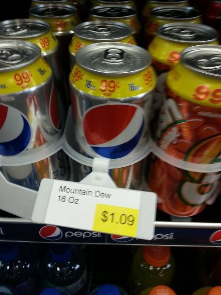 monday thru friday,soda,price tag