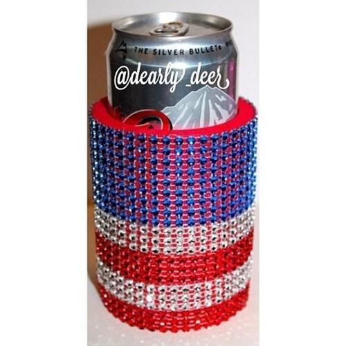 beer murica koozie funny - 8190185216