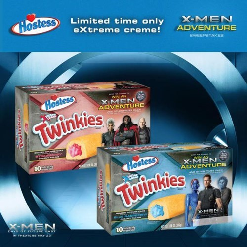 x men twinkies food - 8190220288
