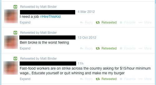 twitter minimum wage irony burn - 8190260224