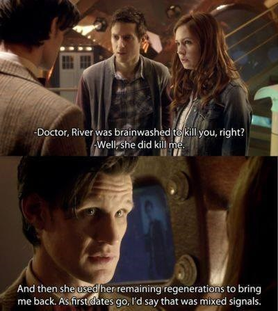Time Lord Romance Is a Little Different