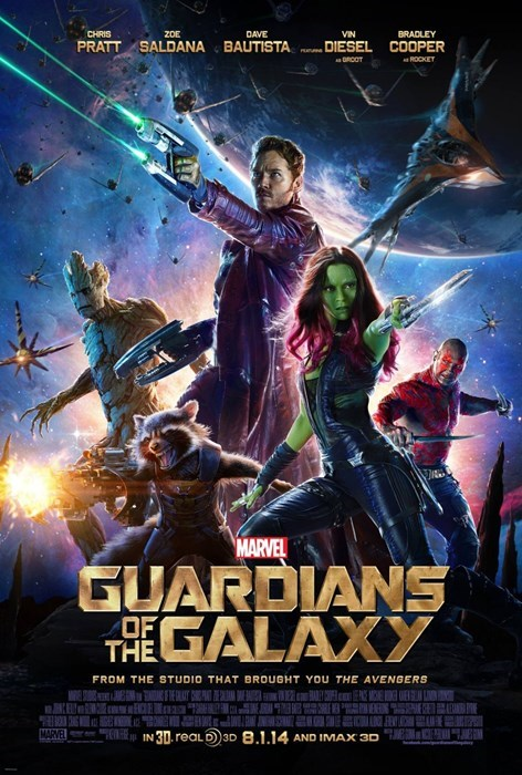 movie poster guardians of the galaxy - 8190316544