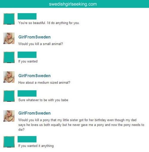 wtf pony online dating funny - 8190488576