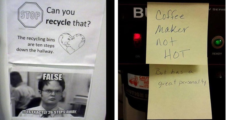 bad office jokes that make work more bearable