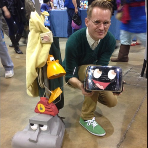 this brave little toaster cosplay made my day (taken at Anime centiral 2014)