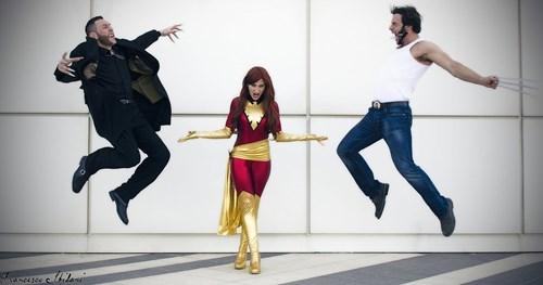 cosplay,phoenix,wolverine