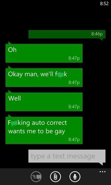 Gay Autocorrect