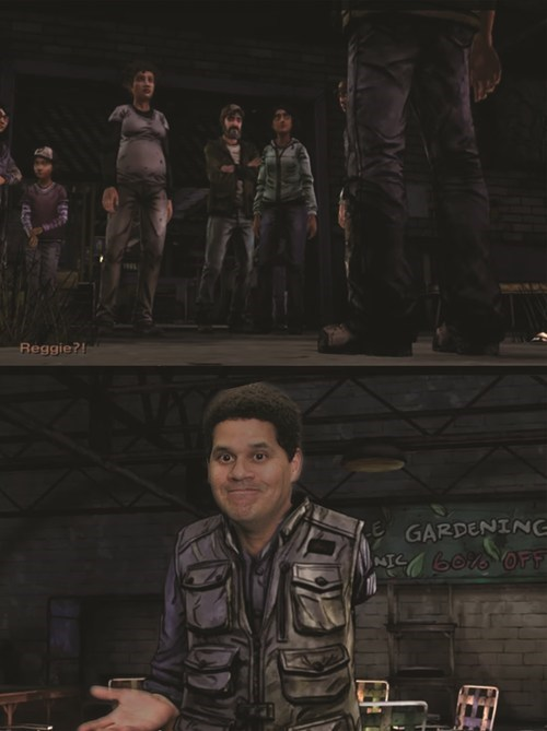 reggie,The Walking Dead