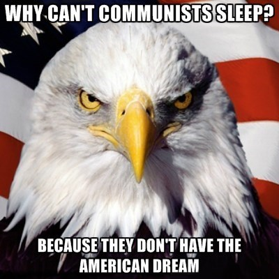 murica eagle communists commies - 8191680512