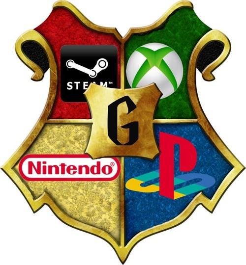 crest,gamers,video games