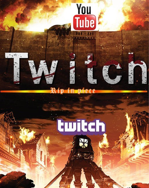 google,youtube,twitch,attack on titan