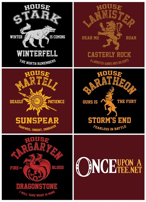 Game of Thrones tshirts - 8192347904