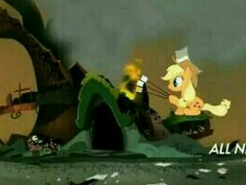 applejack,smores,library