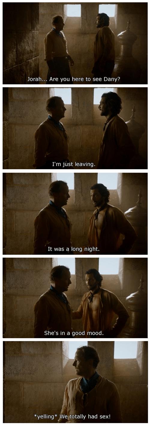Game of Thrones jorah mormont season 4 daario naharis - 8192484864