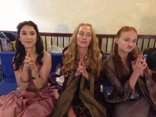 behind the scenes Game of Thrones - 8192493568