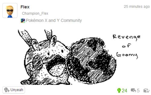 Pokémon Miiverse goomy - 8192528384