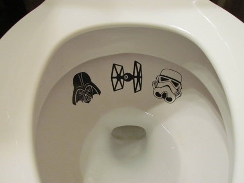 pee,star wars,toilet