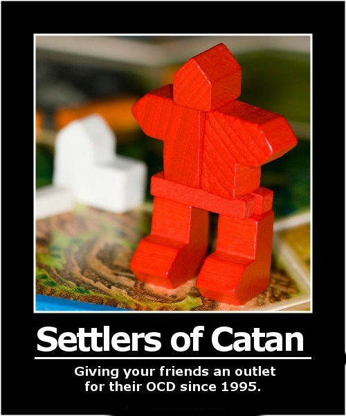 settlers of catan funny ocd - 8192571392
