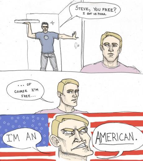 america freedom pizza