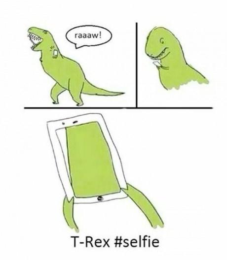 dinosaurs,t rex,tyrannosaurus rex,web comics,selfie