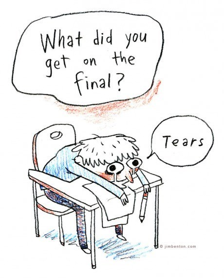What Did You Get on The Final?