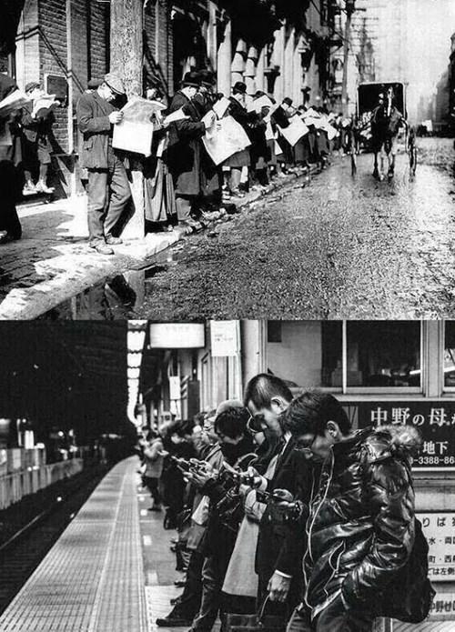 monday thru friday commute historic lols smartphones newspaper g rated