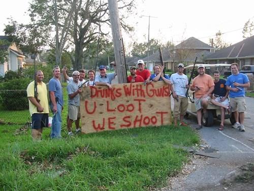 guns real estate drunks