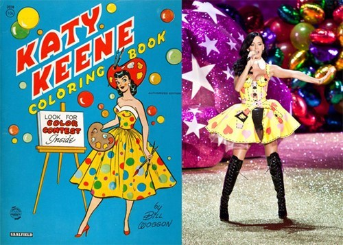fashion,katy perry,Archie Comics,Straight off the Page