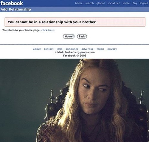 Game of Thrones accidental gross sexy times failbook