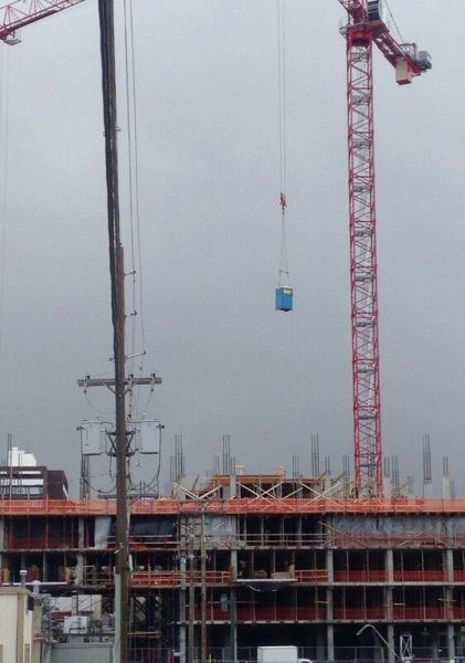 monday thru friday work construction port a potty crane - 8193456896