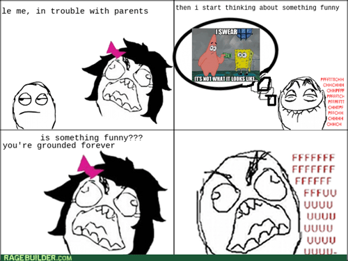rage funny parents grounded - 8193539328