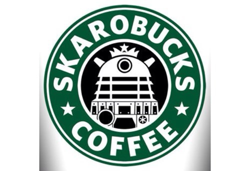 daleks,coffee,Starbucks
