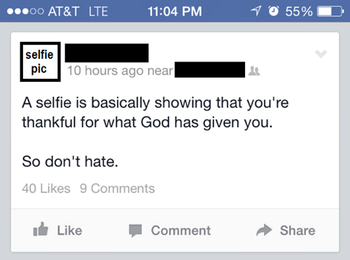 selfie,religion,what