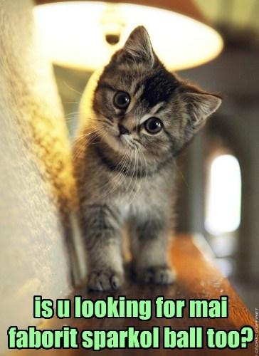 kitten toys sparkles - 8194359808