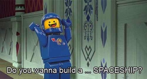 lego movie spaceship frozen - 8194416384
