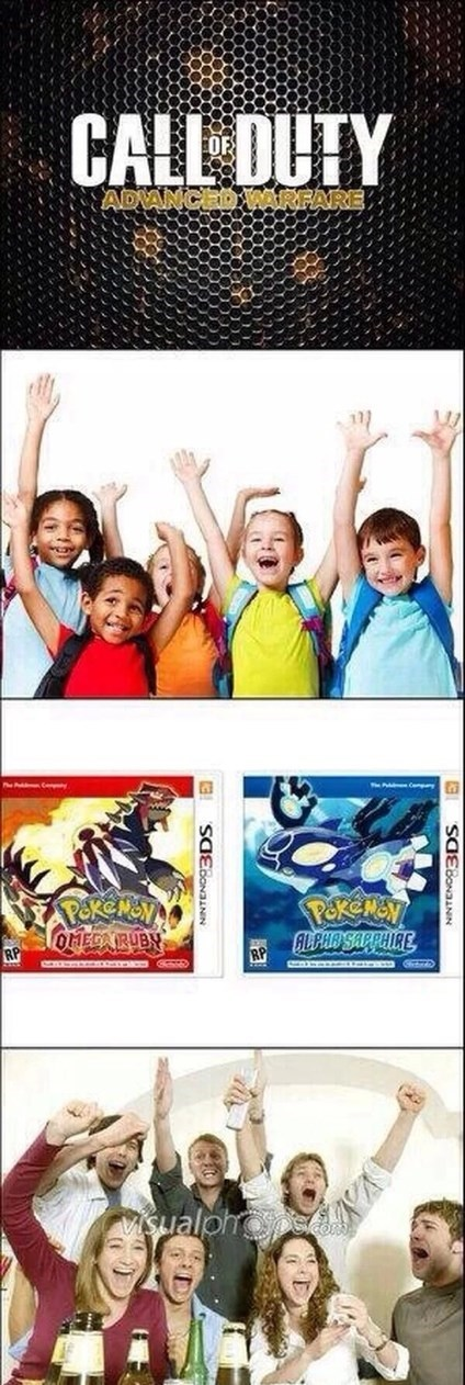 call of duty Pokémon kids gaming gamers - 8194431488