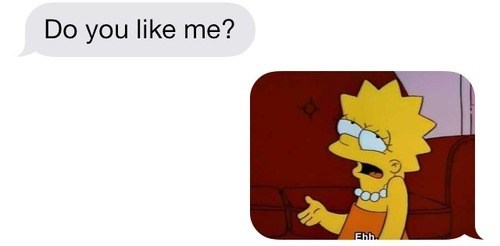 lisa meh the simpsons funny - 8194480896