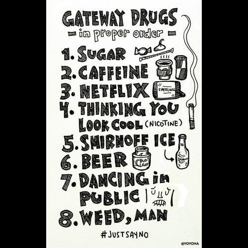 drugs gateway funny - 8194621696