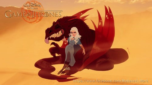 disney,Game of Thrones,Fan Art,cartoons