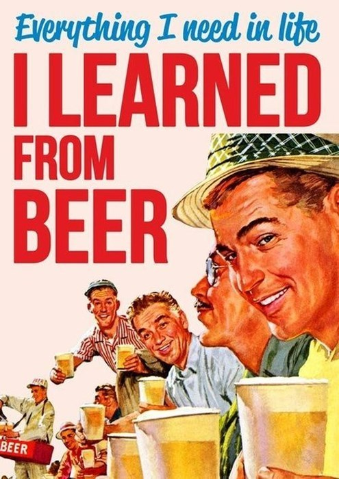 beer life knowledge funny - 8194624768