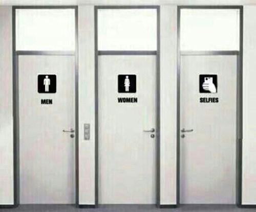 selfie label bathroom failbook g rated