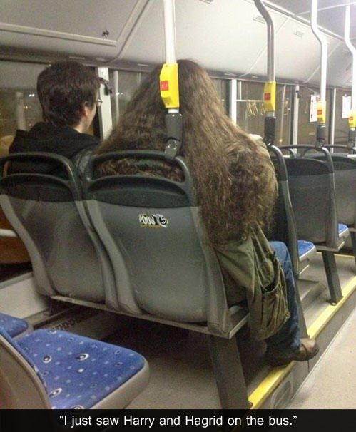 Harry Potter public transportation nerdgasm - 8194700800