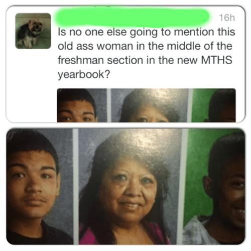 yearbook grandma funny - 8194707968