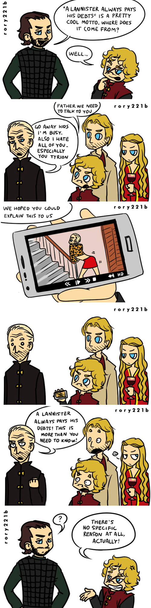 tywin lannister Game of Thrones Lannisters - 8194739968